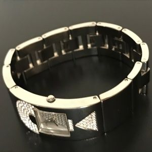 GUESS Bracelet Watch with CZ Stones